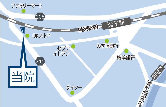 〒249-0006 神奈川県逗子市逗子1-11-23 オーシャンズ6 1F